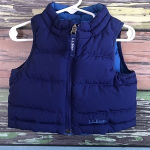 LLBean reversible vest